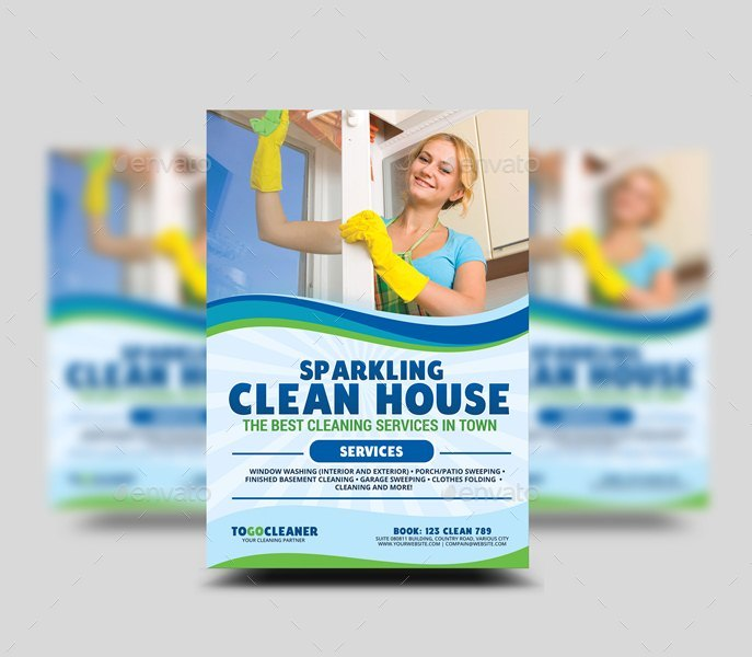 Cleaning services flyer template by artchery graphicriver cleaning services flyer template saigontimesfo