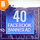 40 -  Travel Facebook Banners Ad - GraphicRiver Item for Sale