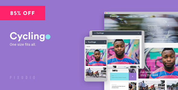 Cycling – Event & Blog HTML Template