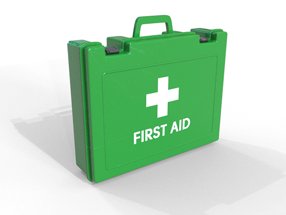 First Aid Box - 3DOcean Item for Sale