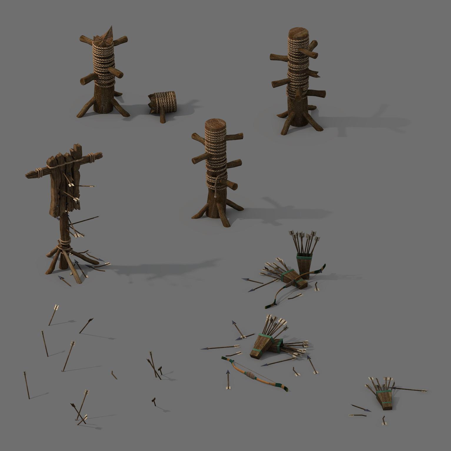 Barracks - arrows