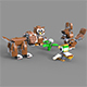 Lego Animals - 3DOcean Item for Sale