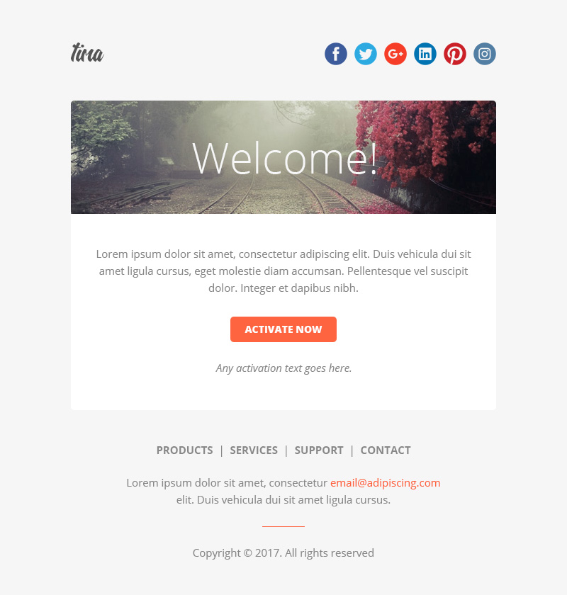 Tima multipurpose email notifications newsletter templates by preview05 activationg maxwellsz