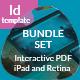 Interactive PDF Business Proposal Bundle - GraphicRiver Item for Sale