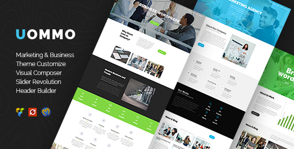 Uommo – Seo Marketing Theme