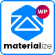Materialize - Material Design Multipurpose WordPress Theme Nulled
