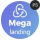 Megalanding -  Multipurpose Landing Page Nulled