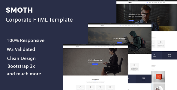 Smoth – Multipurpose Corporate Template