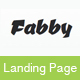 Fabby - One Product Shop Template - ThemeForest Item for Sale