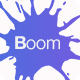 Boom Mobile App Landing Page PSD Template Nulled