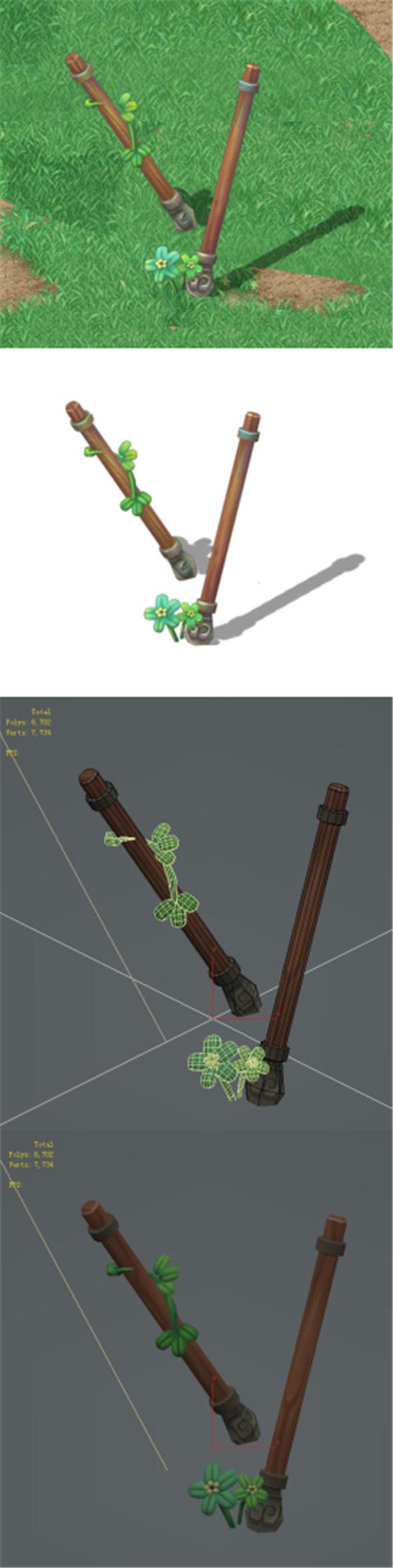 Cartoon Edition - Ancient Battlefield Arrows - 3DOcean Item for Sale
