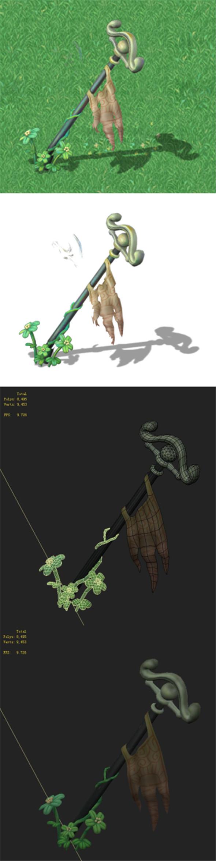 Cartoon Edition - Ancient Battle Flag - 3DOcean Item for Sale