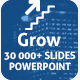 Grow Powerpoint Presentation Template - GraphicRiver Item for Sale