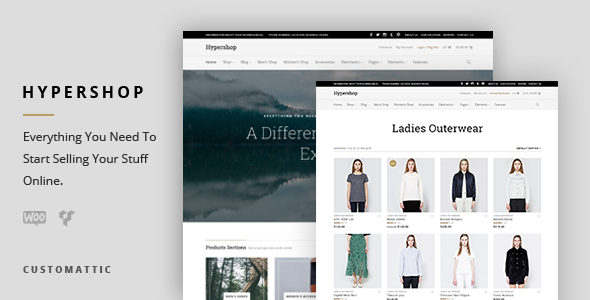 Hypershop - eCommerce WP Theme for WooCommerce