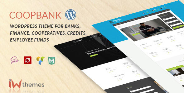 CoopBank | Banking & Credits WordPress Theme