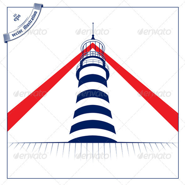 Lighthouse Tower Icon - Buildings Objects
