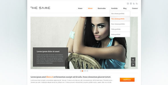 Business Site Template – HTML5