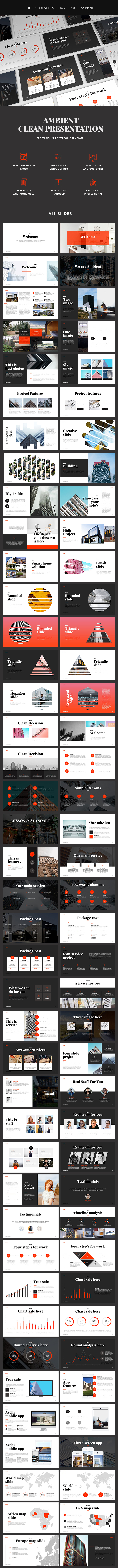 Ambient Presentation - PowerPoint Templates Presentation Templates