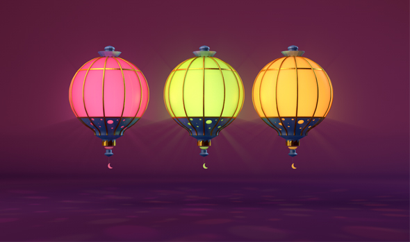 Lantern Fantasy - 3DOcean Item for Sale