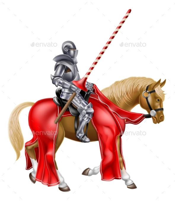 Knight on Horse - Miscellaneous Characters