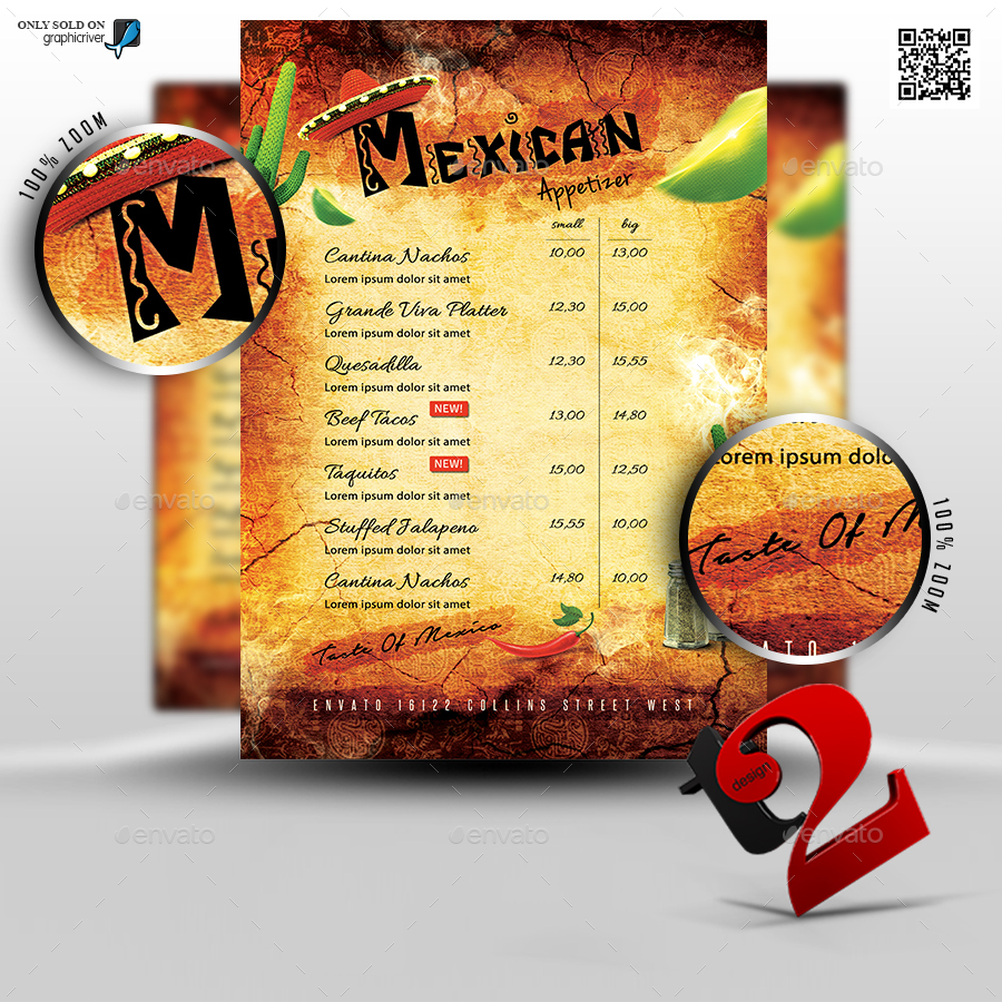 Mexican Restaurant Flyers Ibovnathandedecker