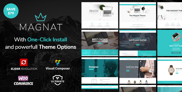 Magnat – Responsive Multi-Purpose WordPress Theme
