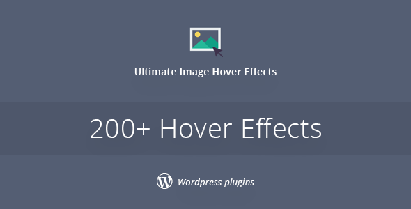 Ultimate Image Hover Effects Plugin For WordPress - CodeCanyon Item for Sale