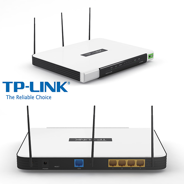 TP Link Wifi Router - 3DOcean Item for Sale