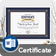 Certificate - GraphicRiver Item for Sale