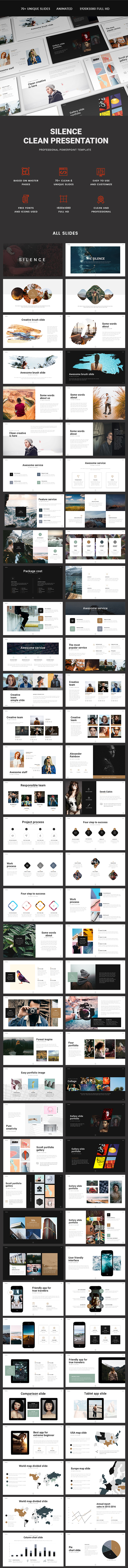 Silence Presentation - PowerPoint Templates Presentation Templates