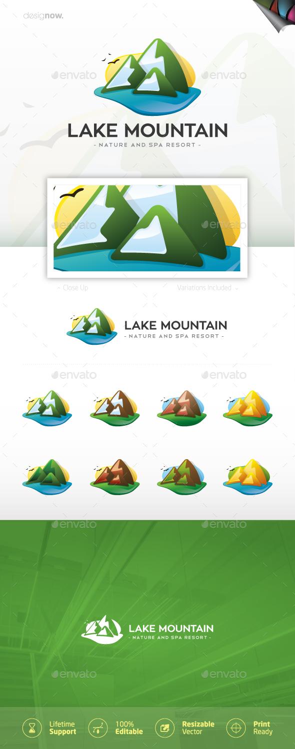 Lake Mountain - Nature Logo Templates