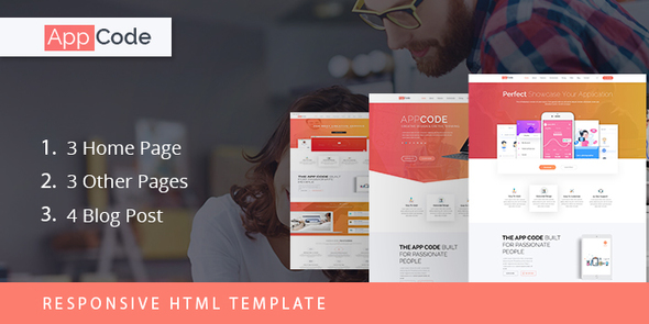 AppCode – Responsive Mobile App Website Template