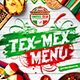Mexican Menu Template vol.3 - GraphicRiver Item for Sale