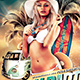 Beach Party Flyer Template V1 - GraphicRiver Item for Sale