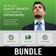 4 Corporate Business Flyer Templates Bundle V2 - GraphicRiver Item for Sale