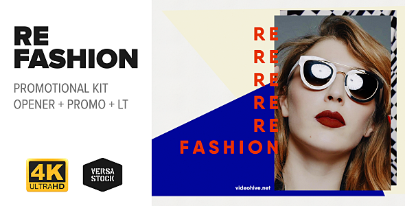 RE Fashion | Promo Kit