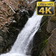 Waterfall in Mountain Forest - VideoHive Item for Sale