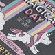 Unicorn Birthday Invite - GraphicRiver Item for Sale