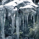 Passing Icicles On Rock Face - VideoHive Item for Sale