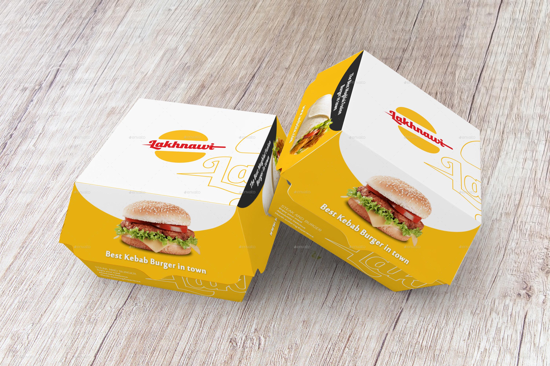 Burger Box Mockups By Shaikerintu Graphicriver