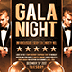 Gala Night Flyer - GraphicRiver Item for Sale