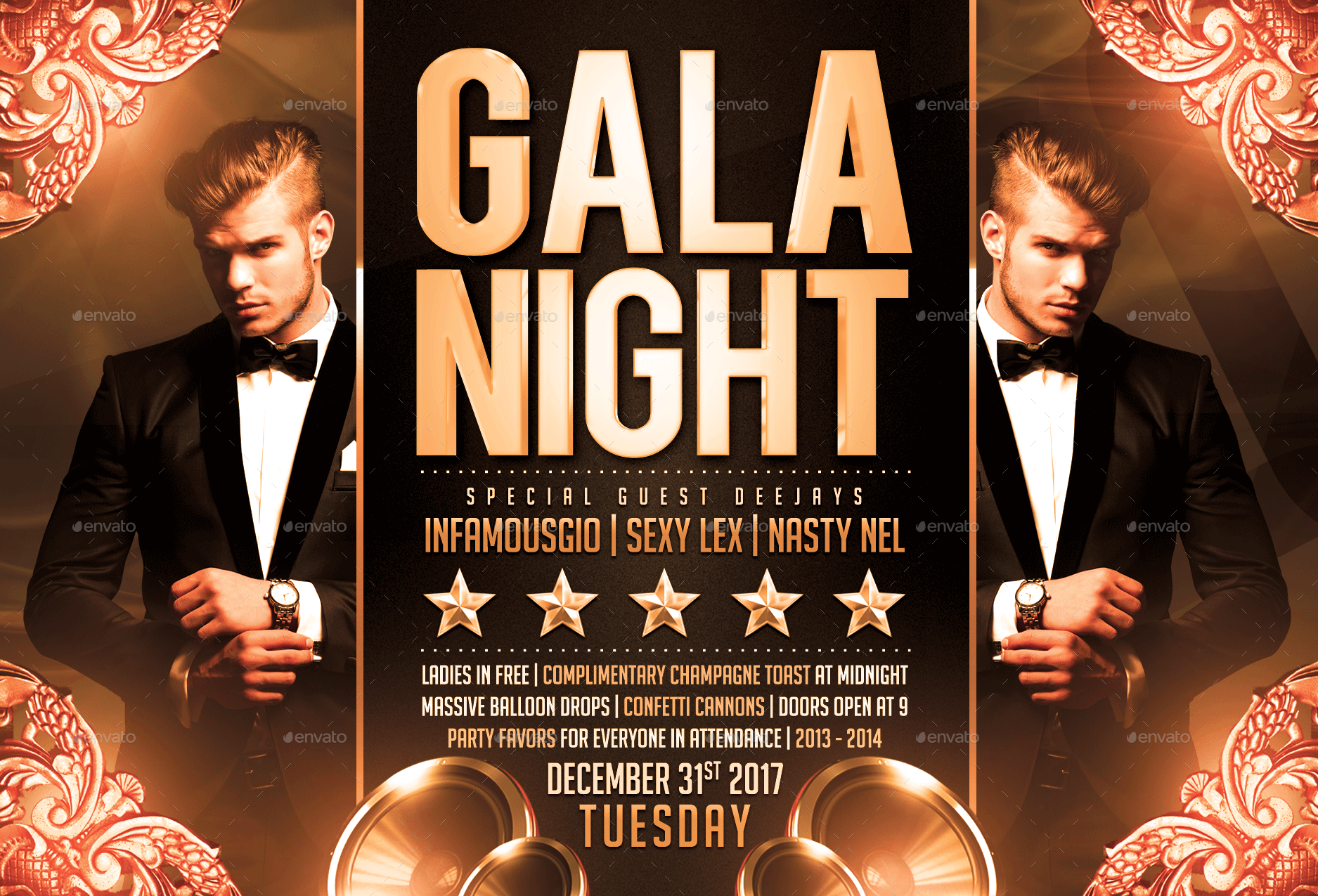Gala Night Flyer By Fas
