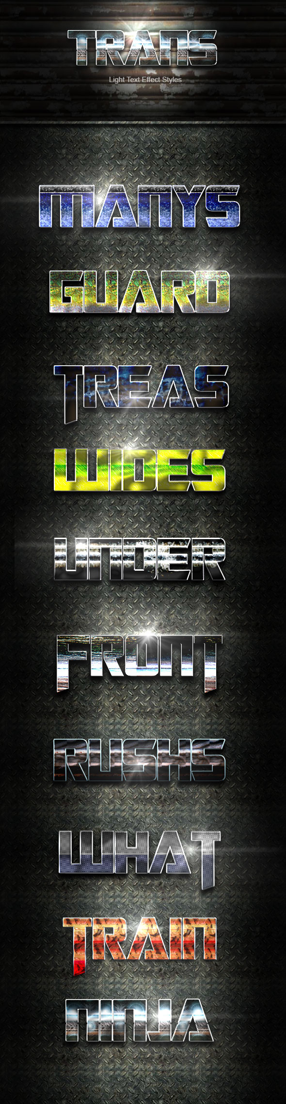 Trans Text Effect V35 - Text Effects Actions