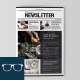 Newsletter Template 03 - GraphicRiver Item for Sale