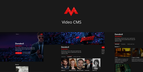 Muviko - Video CMS - CodeCanyon Item for Sale