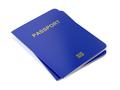 Biometric passports on white - PhotoDune Item for Sale