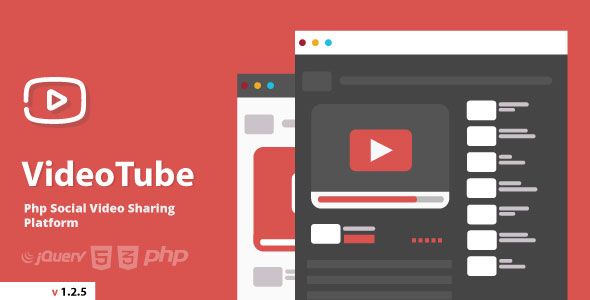VideoTube - Video CMS - CodeCanyon Item for Sale
