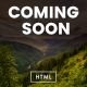 Coming Soon HTML Template Nulled