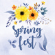Summer Spring Fest Party - GraphicRiver Item for Sale