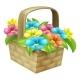 Cartoon Floral Basket
